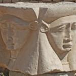 Hathor statue at Dendera temple